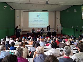 L'assemblée générale du Mouvement ATD Quart Monde en France a rassemblé 350 personnes à Rennes le 2 juin (ph. JC Sarrot)
