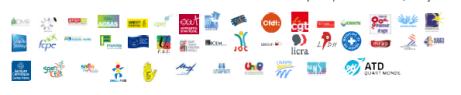 Partenaires de la lutte contre la discrimination pour précarité sociale