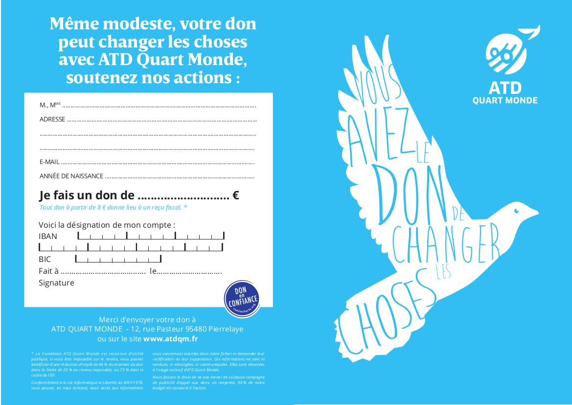 tract appel dons verso
