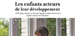 Un partenariat entre ATD Quart Monde et l'Institut Maria Montessori à Noisy-le-Grand