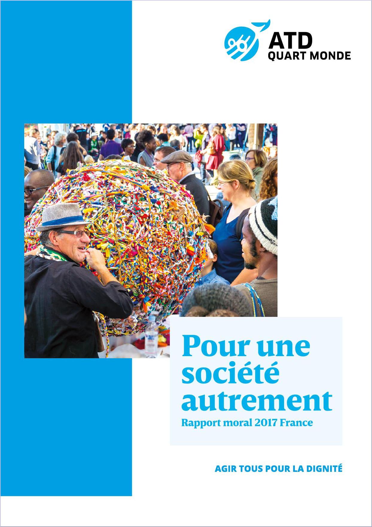 Pour une société autrement - Rapport moral 2017 France